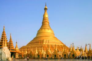 Die-Shwedagon-Pagode