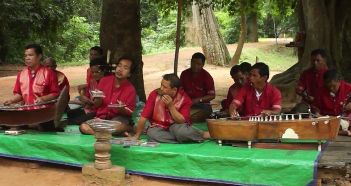Musikanten In Angkor Wat