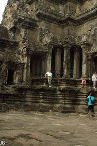 Angkor Wat-Prasat der zentrale Turm
