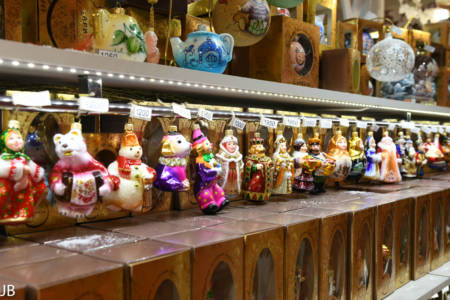 Spielzeug für den Weihnachtsbaum im Detski Mir