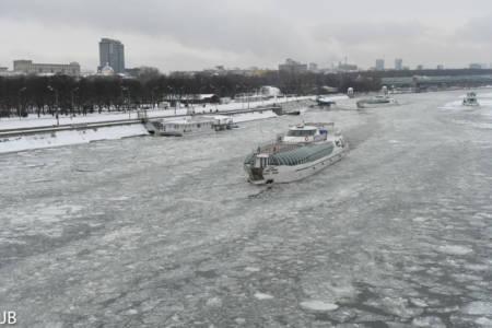 Der Fluss Moskwa